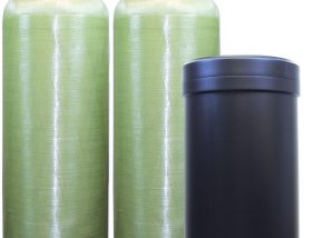 Clack Twin Alternating Water Softeners